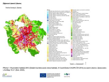 Karte aus Forschungsbericht