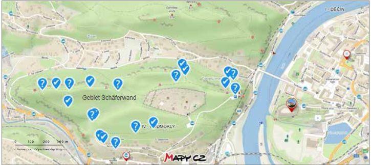 Karte/mapa